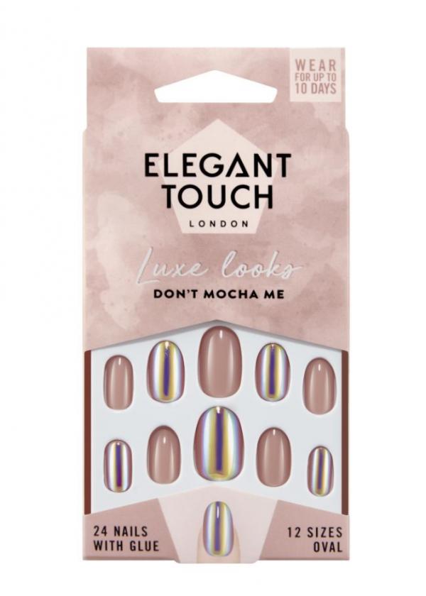 Elegant Touch False Nails Don't Mocha Me