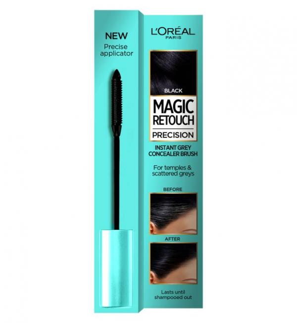 L'Oreal Magic Retouch Black Precision Instant Grey Concealer Brush