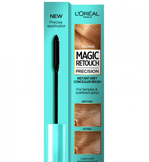 L'Oreal Magic Retouch Blonde Precision Instant Grey Concealer Brush