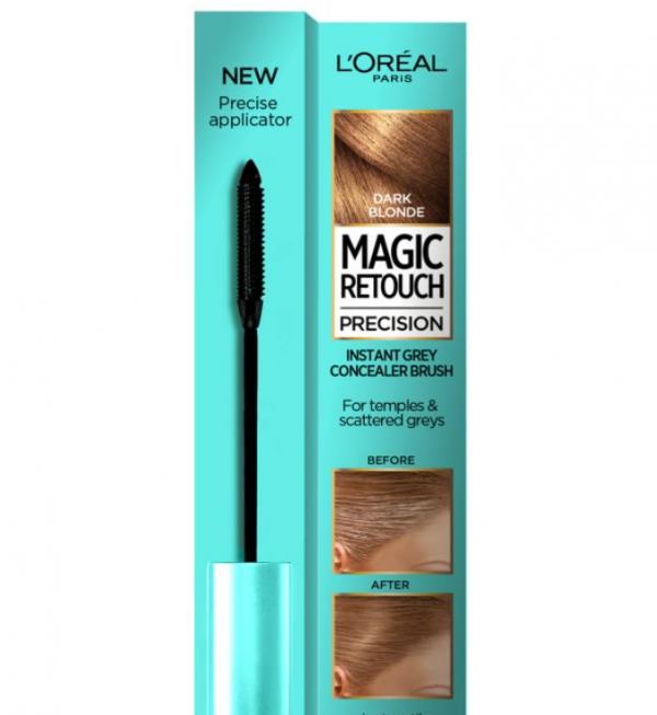 L'Oreal Magic Retouch Dark Blonde Precision Instant Grey Concealer Brush