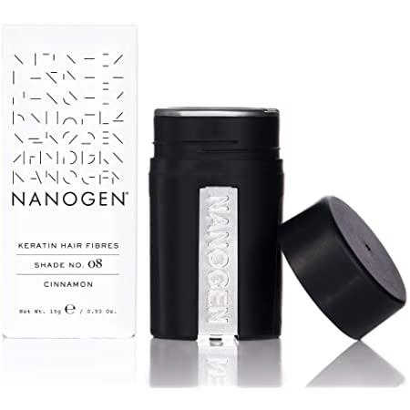 Nanogen Hair Thickening Keratin Fibres – Dark Brown 15g (1 month supply)