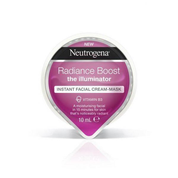 Neutrogena Radiance Boost Instant Facial Cream Mask 10ml