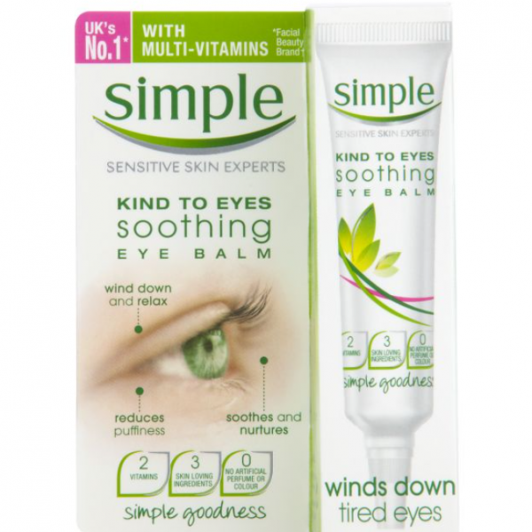 Simple Kind To Eyes Eye Balm Soothing 15ml