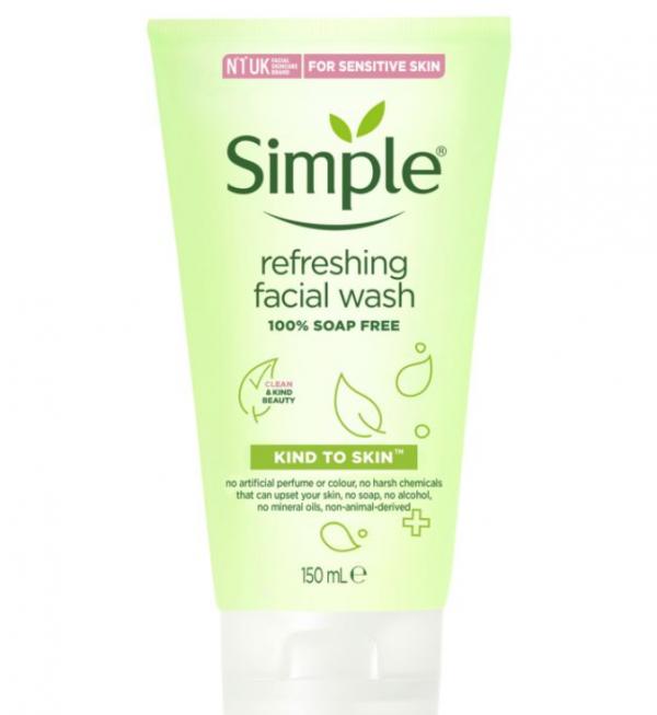 Simple Kind to Skin Refreshing Facial Wash Gel 150 ml
