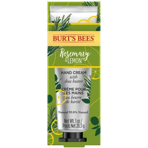 Burt's Bees® Moisturising Hand Cream with Shea Butter, Rosemary & Lemon, 1 Tube 28.3g